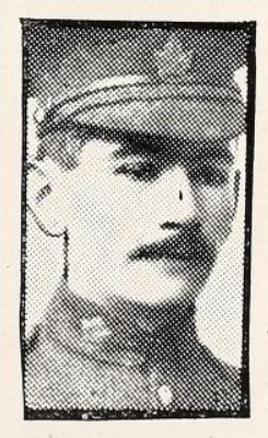 Photo of CHARLES VICTOR CHRISTIAN SCOTT– Photo from the National Memorial Album of Canadian Heroes c.1919. Submitted for the project, Operation: Picture Me.