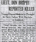 Newspaper Clipping– Page 1 of the Dec. 26, 1916 Ottawa Evening Journal.