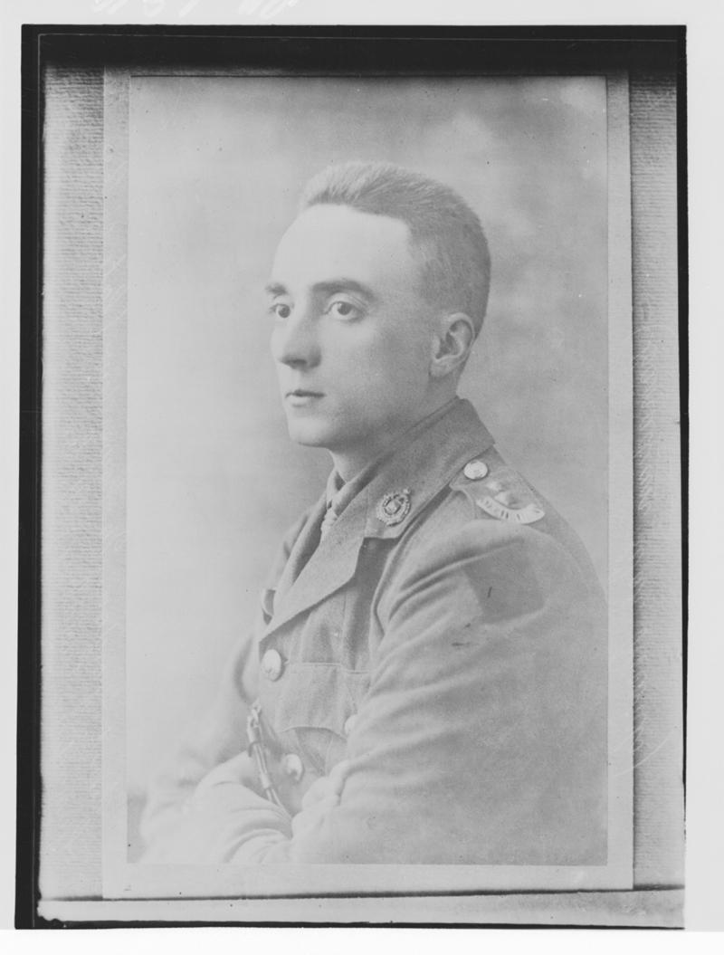 Photo of Lieut. G.M. Flowerdew