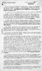 War Diary– Canadian Cavalry Brigade; Brigade Narrative