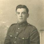Photo de Robert Williams – Robert Williams - photo officielle avant de partir pour la France en 1916 - encore aimé et pas oublier