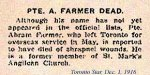 Photo of Abraham Farmer– Casualty Notice