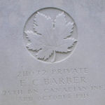 Grave marker– Photo provided by The Commonwealth Roll Of Honour Project. Volunteer Jack and Dale