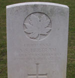 Grave Marker– Died of wounds received at Avion Photo and additional information provided by The Commonwealth Roll of Honour Project