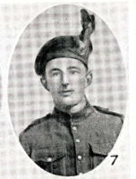 Photo of ERNEST ALBERT GRANT– In memory of the men who joined the 185th Battalion (Cape Breton Highlanders) who went to war and did not come home. Submitted for the project, Operation Picture Me