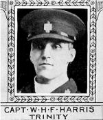Photo of Webster Harris– From: The Varsity Magazine Supplement published by The Students Administrative Council, University of Toronto 1918.  