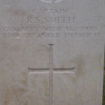 Grave Marker– Photo provided by The Commonwealth Roll Of Honour Project. Volunteer Mike Symmonds