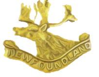 Badge– Caribou Hat Badge of the Royal Newfoundland Regiment