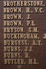 Inscription– Panel on Peterborough Cenotaph.
