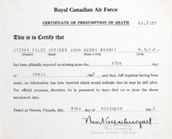 Death Certificate– Submitted for the project, Operation Picture Me