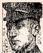Newspaper Clipping– Pte. John Campbell was born on June 24th, 1871 in Argylshire, Scotland.  He signed his military attestation for the 208th Battalion CEF in Toronto on May 1st, 1916.  His wife, Annie Campbell, was listed as next-of-kin.  He indicated on his attestation that he worked as a conductor. His name is listed on the Toronto Street Railway 1st World War memorial plaque which is located today at Toronto's Old City Hall, Queen Street.