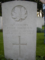 Grave Marker– Photo provided by The Commonwealth Roll Of Honour Project. Volunteer Julie Lukins