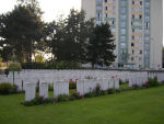 Cemetery– Douai British Cemetery Cuincy. Photo provided by The Commonwealth Roll Of Honour Project. Volunteer Julie Lukins