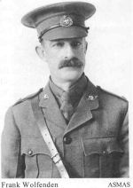 Photo of Francis Cooley Wolfenden– Major Francis Cooley Wolfenden (Courtesy of 'So Far From Home, Armstrong's Fallen of the Great War', Leonard J. Gamble, Author)