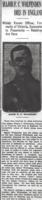 Newspaper clipping– From the Daily Colonist of June 24, 1917. Image taken from web address of https://archive.org/stream/dailycolonist59y169uvic#page/n0/mode/1up
