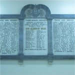 Memorial– Memorial at Perth and District Collegiate Institute in honour of former students who participated in the Great War.