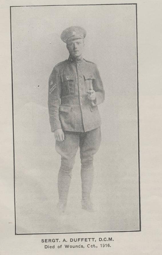 Photo of ALBERT GEORGE DUFFETT