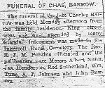 """Newspaper Clipping– Archie's parents emigrated from England by Ingersoll town census of 1891. Father Charles, """"coatmaker"""", was employed by Thompson & Smith tailors, west corner King/Queen sts.  Obit images courtesy Ingersoll Public Library/Oxford County system."""