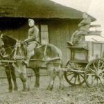 Photo de George et son frère – George Cumming et son frère James vers 1915