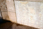 Inscription– A photograph of the memorial wall at the Zivy Crater Cemetery. May he rest in peace.(J.Stephens)