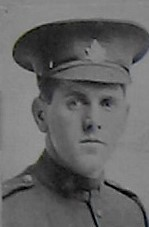 Photo of Benjamin Woolley– Pte Benjamin Woolley as published in the December 1918 edition of The Christmas Echo at London Ontario --And in the Morning