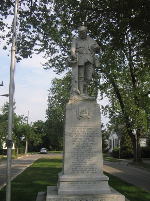 Port Dalhousie Cenotaph