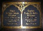 Memorial Plaque– Memorial plaque dedicated to Major Richard Juson McLaren and Captain Frederick Gates McLaren.  Church of the Ascension, Hamilton, Ontario.