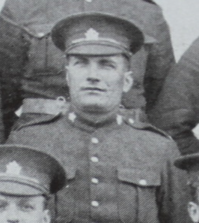 Photo of KENNETH MCLEAN– In memory of the men from the 28th Battalion CEF who went to war and did not return. Submitted for the project, Operation: Picture Me