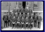 Group Photo– Cadet Malcolm Cann was a graduate of the first class of the Royal Navy College of Canada, set up in 1911 shortly after the Canadian Navy itself was established in 1910.