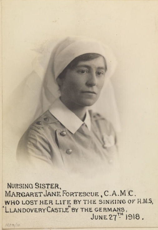 Photo of Margaret Jane Fortescue– © IWM (WWC H22-11)