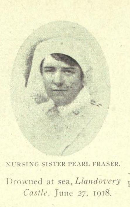 Photo of Margaret Marjory (Pearl) Fraser– Nova Scotia's Part in the Great War