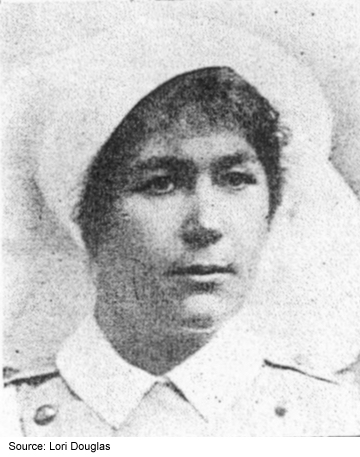 Photo of Nursing Sister Minnie Gallaher