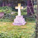 Grave Marker– Lieut.-Colonel H.S. Greenwood grave marker inscription.