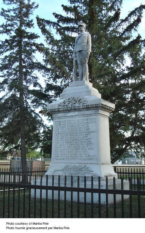 Aberfoyle Ontario War Memorial