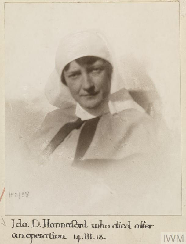 Photo of Ida Hannaford– © IWM (WWC H2-38)