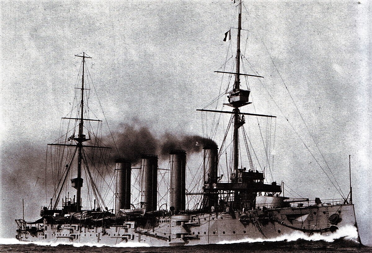 HMS Good Hope– HMS Good Hope - the Royal Navy Drake-class armoured cruiser that was the flagship of Rear Admiral Christopher Cradock's 4th Cruiser Squadron in the early days of World War I.  Arthur Silver was serving in HMS Good Hope and was killed when the ship was sunk by the German Navy's East Asia Squadron, under the command of Vice Admiral Graf Maximilian von Spee, at the Battle of Coronel on 1 November 1914.