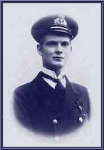 Photo of WILLIAM MCKINSTRY MAITLAND-DOUGALL– Lieutenant (RCN) William McKinstry Heriot-Maitland-Dougall was killed on active service with his officers and crew while in Command of H.M. Submarine D3 off Le Havre on 12 March, 1918 at 23 years of age.