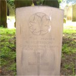 Grave Marker– A son of Canada returned home