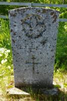 Grave marker– Fort William First Nations Cemetery … June 2019 … photo courtesy of Marg Liessens