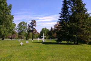 Cimetière – Cimetière Fort William First Nations… Juin 2019 … gracieuseté de Marg Liessens