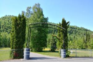 Cemetery– Fort William First Nations Cemetery … June 2019 … photo courtesy of Marg Liessens