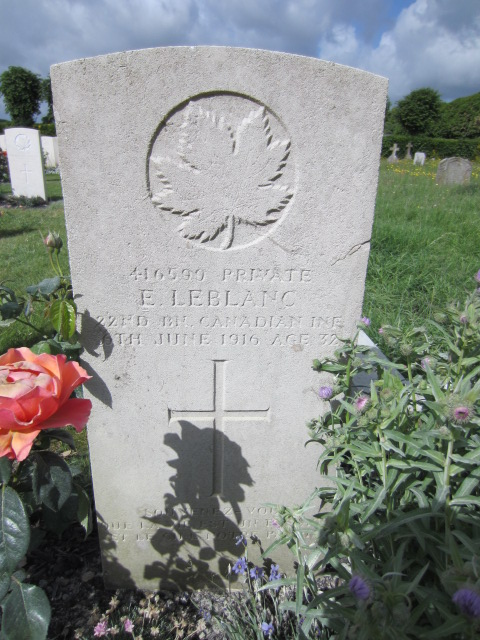 Grave Marker– Grave marker at Chichester Cemetery. Image taken 11 June 2014 by Tom Tulloch.