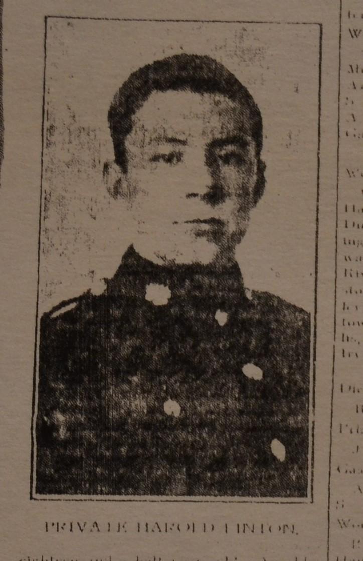 Photo of Harold Linton– Pte. Harold Linton, MM