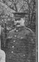 Photo of BERTRAM EVELYN GEORGE CLIBBERY– From the Loyal Edmonton Regimental magazine the Fortyniner.  Submitted for the project, Operation Picture Me