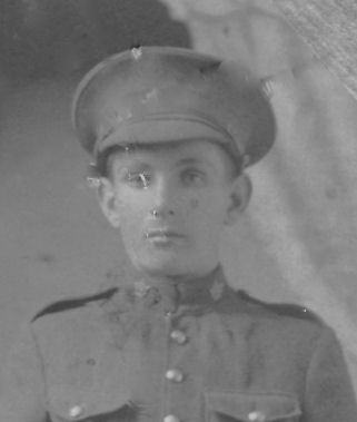 Photo of Addison Anthony– Addison died from spinal meningitis when he was a young man overseas in World War I.