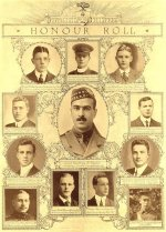 Honor Roll– Honour Roll from The Varsity War Supplement, University of Toronto, July 1915.