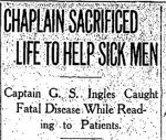 Newspaper Clipping– From the Toronto Star for 1 February 1915.
