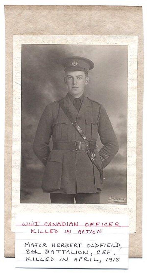 Photo of Herbert Lionel Oldfield