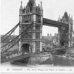Postcard from London– Postcard from London, England, addressed to his sister, Miss Gertrude E. Burr.   Message: Sorry I can't write you a letter just now Gert - this is the best I can do.  I'll write you when I get back to camp. Good boy and went to church this morning, St. Paul's Cathedral.  Will
