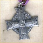 Medal– Memorial Cross (AKA Mothers cross) Issued to the mother of Trooper 116005 Lewis Cartier member of the Canadian Light Horse C.E.F.  